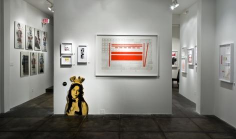 SKYLAR FEIN|||Junk Shot, [Main Gallery Installation View]