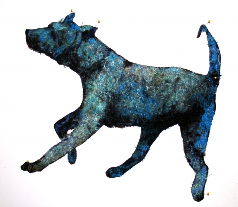 GINA PHILLIPS Blue Hound, 2011