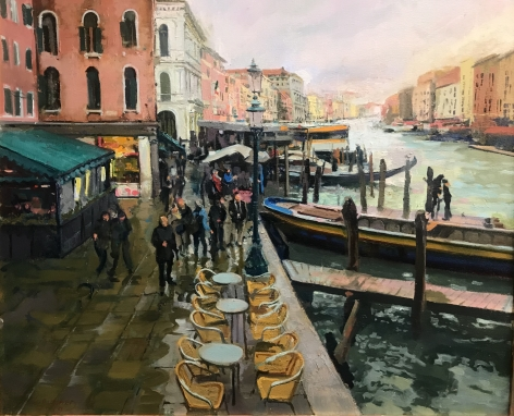 WILLIAM WOODWARD, Venice in March