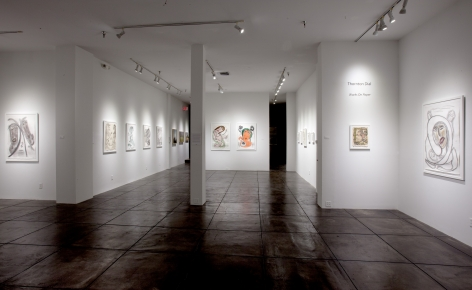 THORNTON DIAL III Works On Paper, [Main Gallery Installation View]