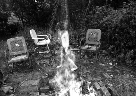 MARCUS KENNEY, Benny in Fire, 2010