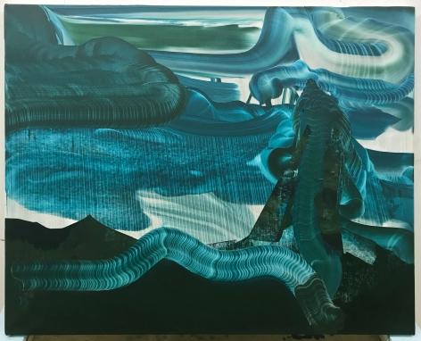 ELLIOTT GREEN, Rubber Fountains, 2018