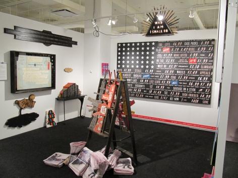 VOLTA NY 2010 III JONATHAN FERRARA GALLERY booth E4, [Installation View]