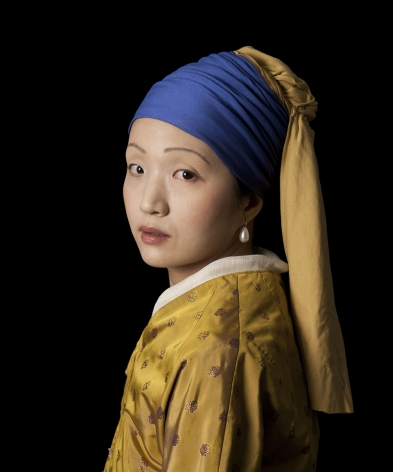 E2 - KLEINVELD & JULIEN, Ode to Vermeer's Girl with a Pearl Earring, 2012