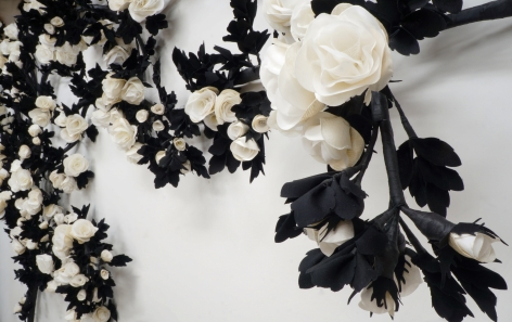 CARLTON SCOTT STURGILL, Wedding Rose (Rosa nuptialis)[detail], 2018