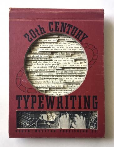 TONY DAGRADI 20th Century Typewriting, 2017