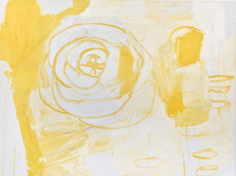 MARGARET EVANGELINE, For LMG, Yellow Rooms Make Her Cry, Version Two, 2019