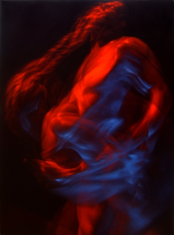 MICHAEL TOLE, Red and Blue Men, 2010