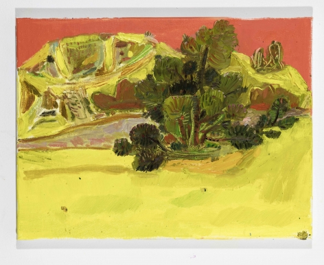 LISA SANDITZ, Landscape Color Study 19, 2019