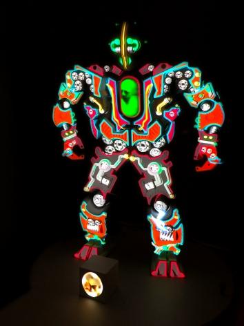 PETER SARKISIAN VideoMorphic Figure #2(Version 1) ON, 2013