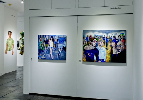 P.2 PROJECTS III in conjunction with Prospect 2 Biennial, [Back Gallery Installation View]
