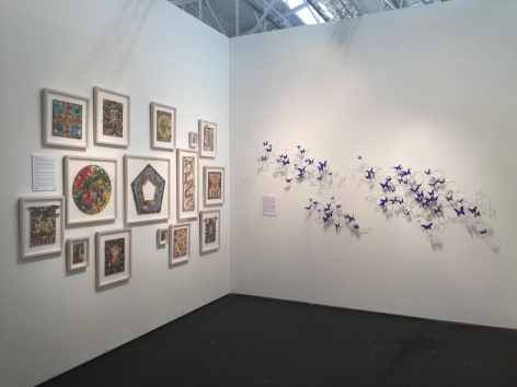 ART MARKET SAN FRANCISCO 2015 III JONATHAN FERRARA GALLERY booth 313, [Installation View]