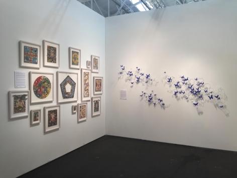 ART MARKET SAN FRANCISCO 2015 III JONATHAN FERRARA GALLERY booth 313, [Installation View]