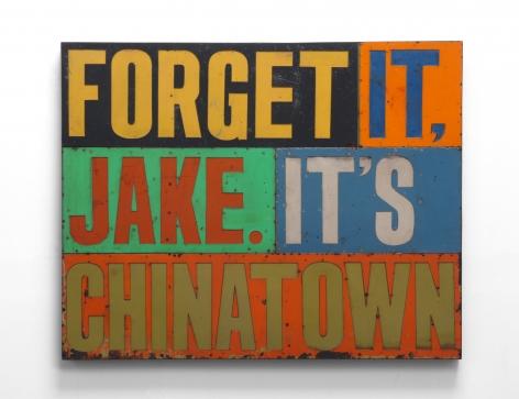DAVID BUCKINGHAM Forget it Jake It's Chinatown, 2008