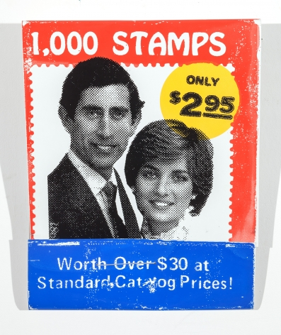 SKYLAR FEIN 1000 Stamps (Price Charles, Lady Diana), 2015