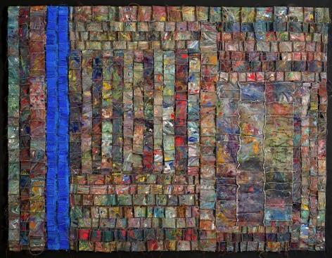 ANITA COOKE Blue Vertical, 2012