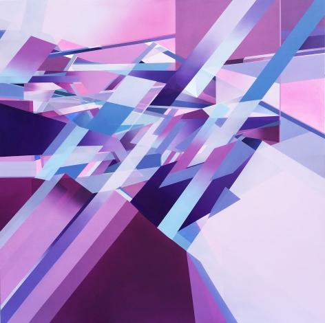 MARNA SHOPOFF, Lavender Rift, 2020
