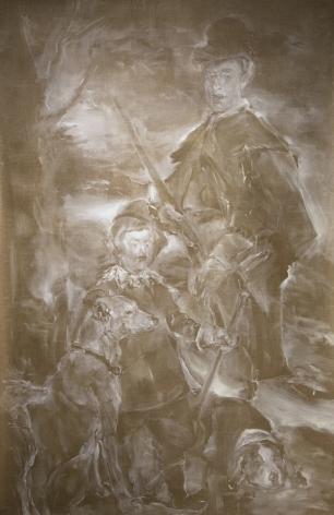 RACHEL BORGMAN, Velázquez Letter Investigations [detail], 2014