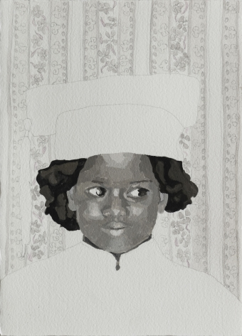 RUTH OWENS, Girl in Kitchen, 2019
