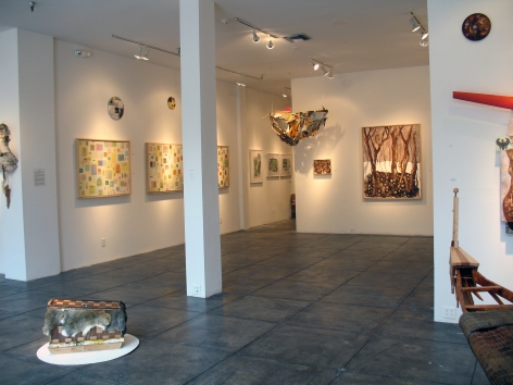 KATHLEEN ARIATTI BANTON III To Ely Point and Back, [Main Gallery Installation View]