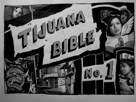 HUGO CROSTHWAITE, Tijuana Bible No. 1, 2017