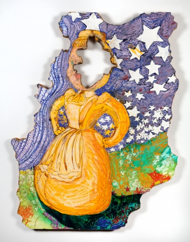 GINA PHILLIPS Stars Fell on Little Yellow Miss, 2014