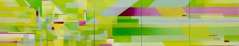 MARNA SHOPOFF, Truce, Chartreuse, 2017