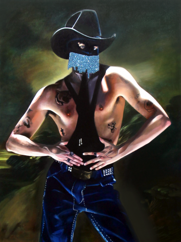 Andrew Norris, Orville Peck as The Blue Boy, 2020