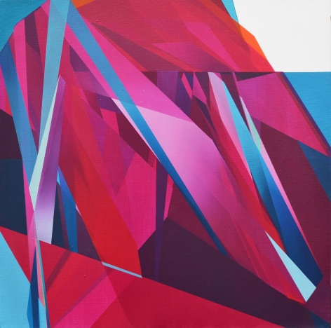 MARNA SHOPOFF, Abstraction No.1 (magenta), 2020