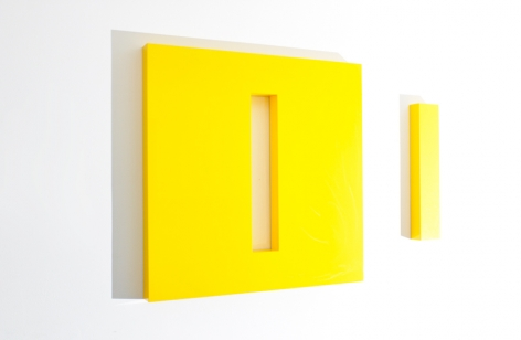 LORI COZEN-GELLER, Escape (yellow), 2014