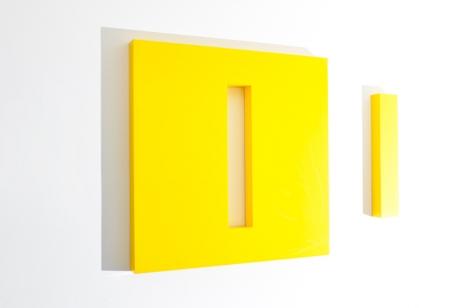 LORI COZEN-GELLER, Escape (yellow), 2014