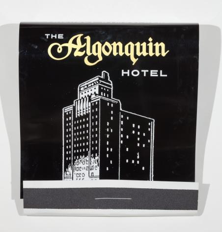 SKYLAR FEIN Algonquin Hotel, 2016