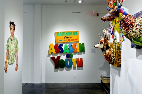 P.2 PROJECTS III in conjunction with Prospect 2 Biennial, [Middle Gallery Installation View]