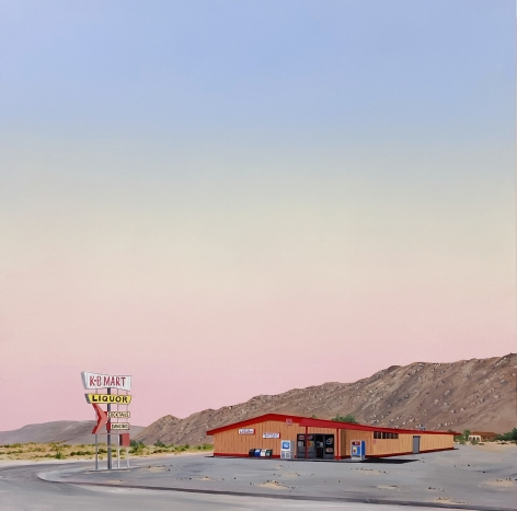 KRISTIN MOORE, One Stop Shop (Joshua Tree), 2020