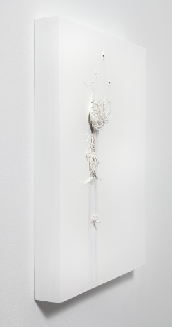 SIDONIE VILLERE Punched I [side view], 2017