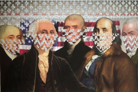 KIM RICE, Founding Fathers, 2019