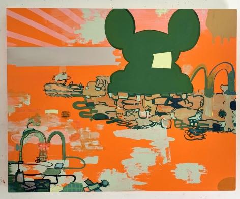 JANE FINE, Painting for Joyce, 2021