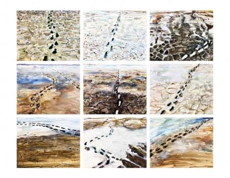 RICHELLE GRIBBLE, Imprints, 2018