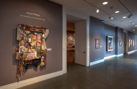 GINA PHILLIPS III I Was Trying Hard to Think About Sweet Things, [Ogden Museum Installation View]