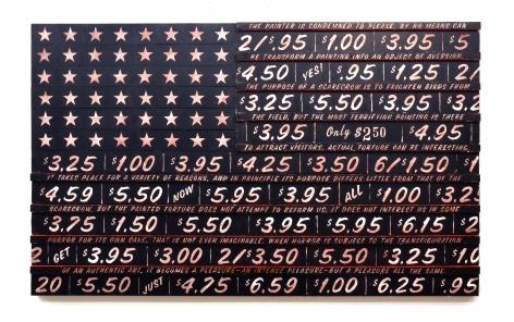 SKYLAR FEIN Black Flag for Georges Bataille,2012