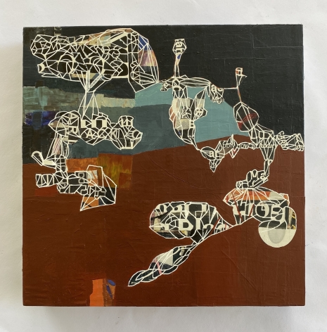 AIMÉE FARNET SIEGEL, Puzzled 1, 2020