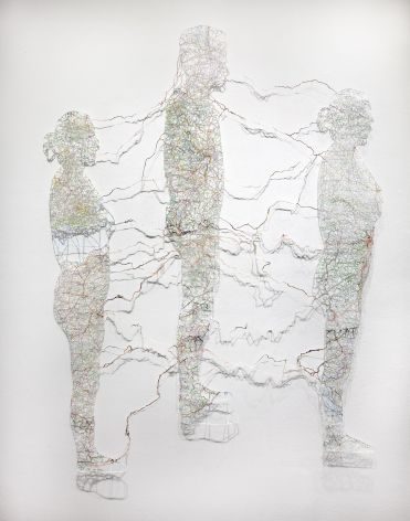NIKKI ROSATO, Untitled (Connections), 2013
