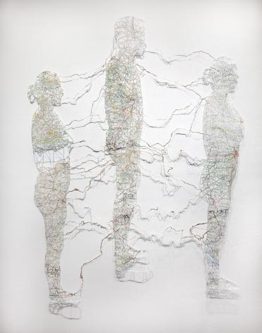 NIKKI ROSATO, Untitled (Connections), 2013