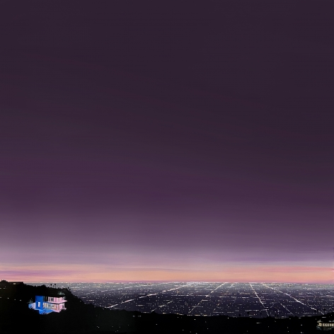 KRISTIN MOORE, Hollywood Hills Overlook, 2020