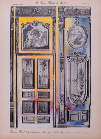 NURHAN GOKTURK Panels to the Grande Salons, 2017