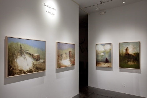 SANDY CHISM III In the Trying, [Middle Gallery Installation View]