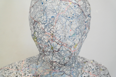 NIKKI ROSATO Untitled (Self Portrait)[detail], 2013