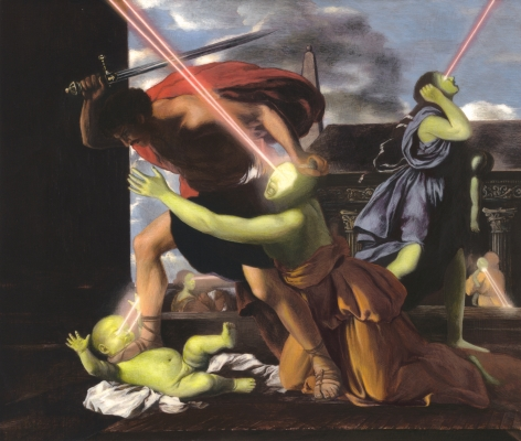 ADAM MYSOCK Having Found the Lowest Threshold (St. George Slaying the Dragon), 2013