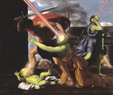 ADAM MYSOCK Having Found the Lowest Threshold (St. George Slaying the Dragon),2013