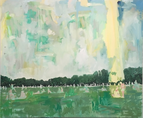 CHRIS BARNARD, The Greatest Lawn, 2016-2018